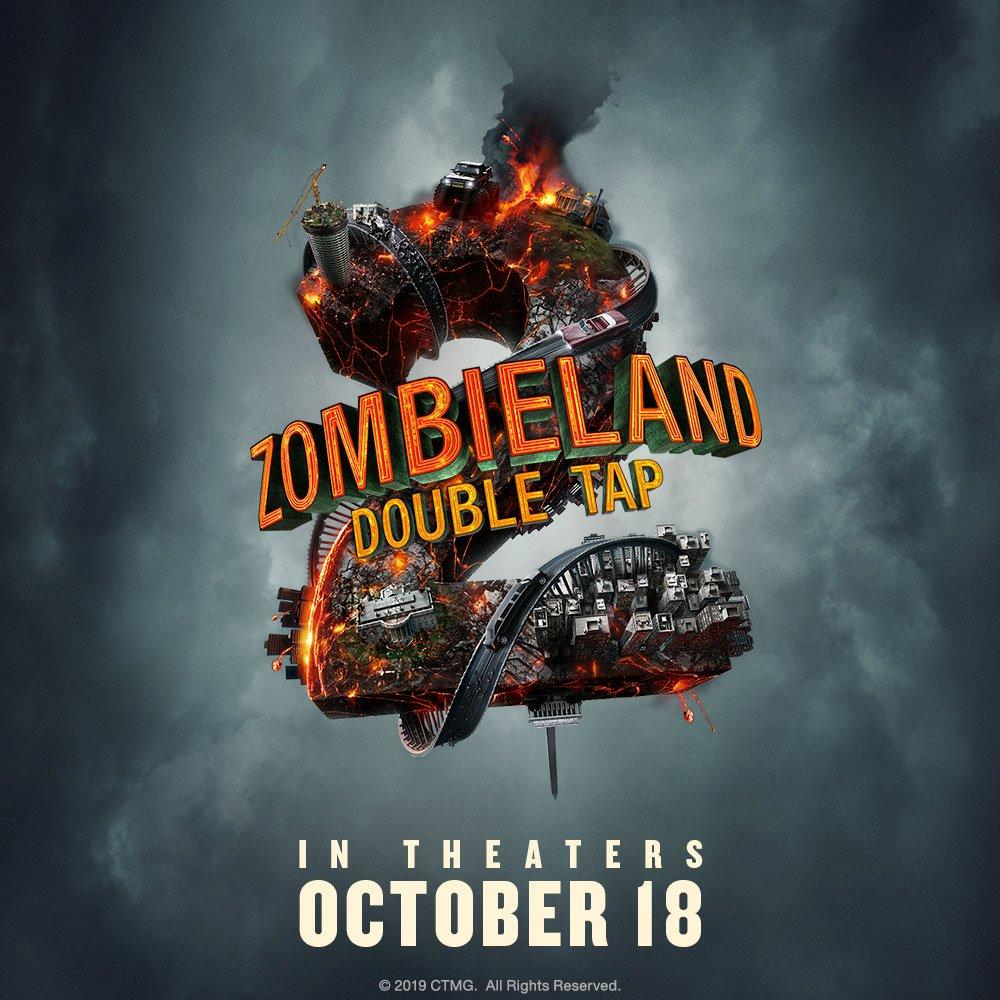 Zombieland 2: Double Tap is heading to theaters on October 18th - check out the latest poster!