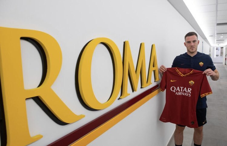 📝 DEAL DONE: Roma have signed Jordan Veretout from Fiorentina on an initial loan deal for €1m with an obligation to buy for €17m next summer. He'll sign a 5-year contract. (Source: @ASRomaEN)