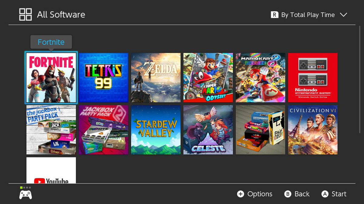 Now that I upgraded my MicroSD card, I can have all my games downloaded onto my #NintendoSwitch!