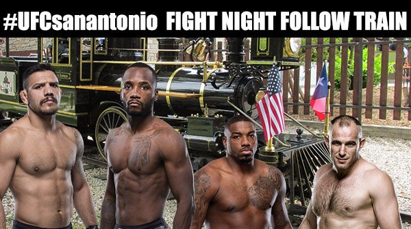 #UFCSanAntonio 🦁FIGHT NIGHT FOLLOW TRAIN🦁  1).  If you support MMA retweet!  2).  If you follow back, like this tweet and comment!  3).  Follow everyone who likes your comment and follow everyone who likes this tweet!  🤜💥Retweeters are not required to FOLLOW BACK!!!💥🤛