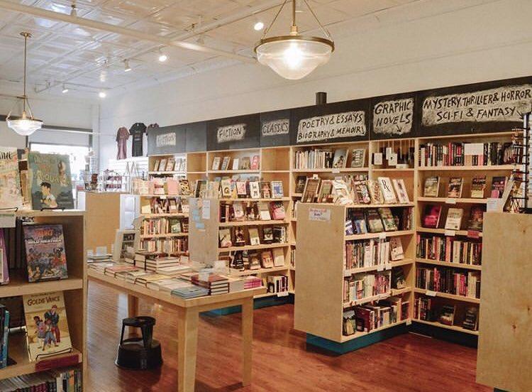 Bookstore magic from @AvidBookshop ✨❤️📚