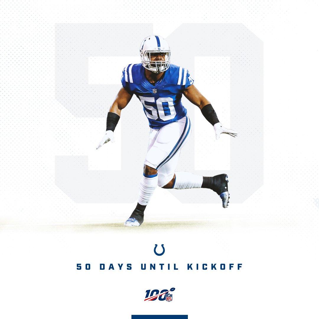 5⃣0⃣ Days. @__AWalkJr | #NFL100