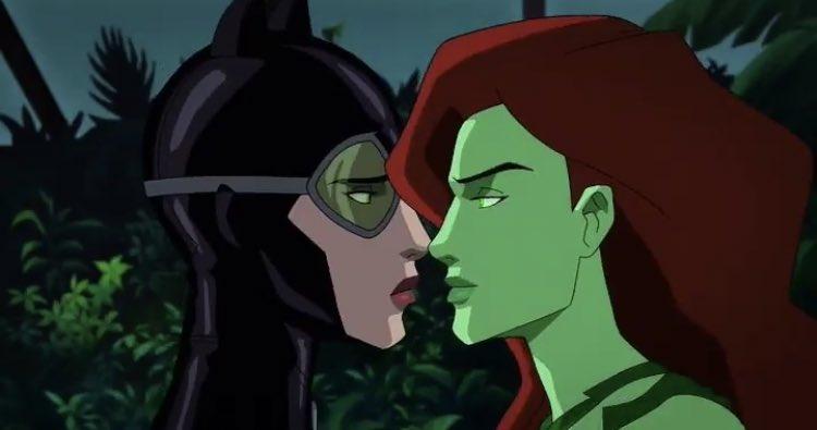 Heroina Do Lixo On Twitter A Poison Ivy Controlando A Catwoman Em Batman Hush A Perfeicao Meu Pai