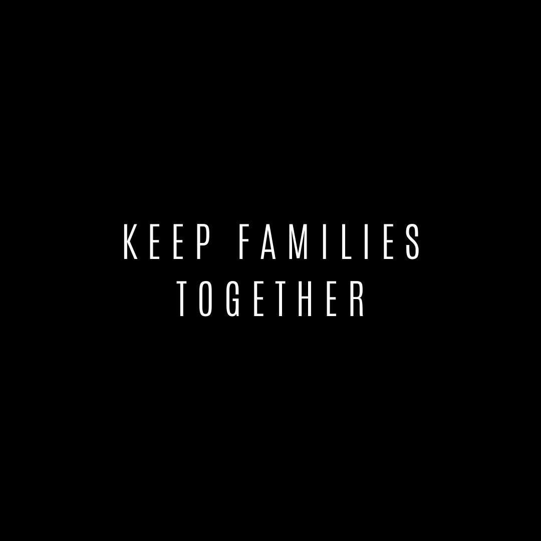 Keep families together.. Please support organizations like @supportKIND, that are working to #protectfamilies imprisoned at the border. Read about what's going on here: nyti.ms/2GhGlYy Donate: ​bit.ly/2YZUzEq