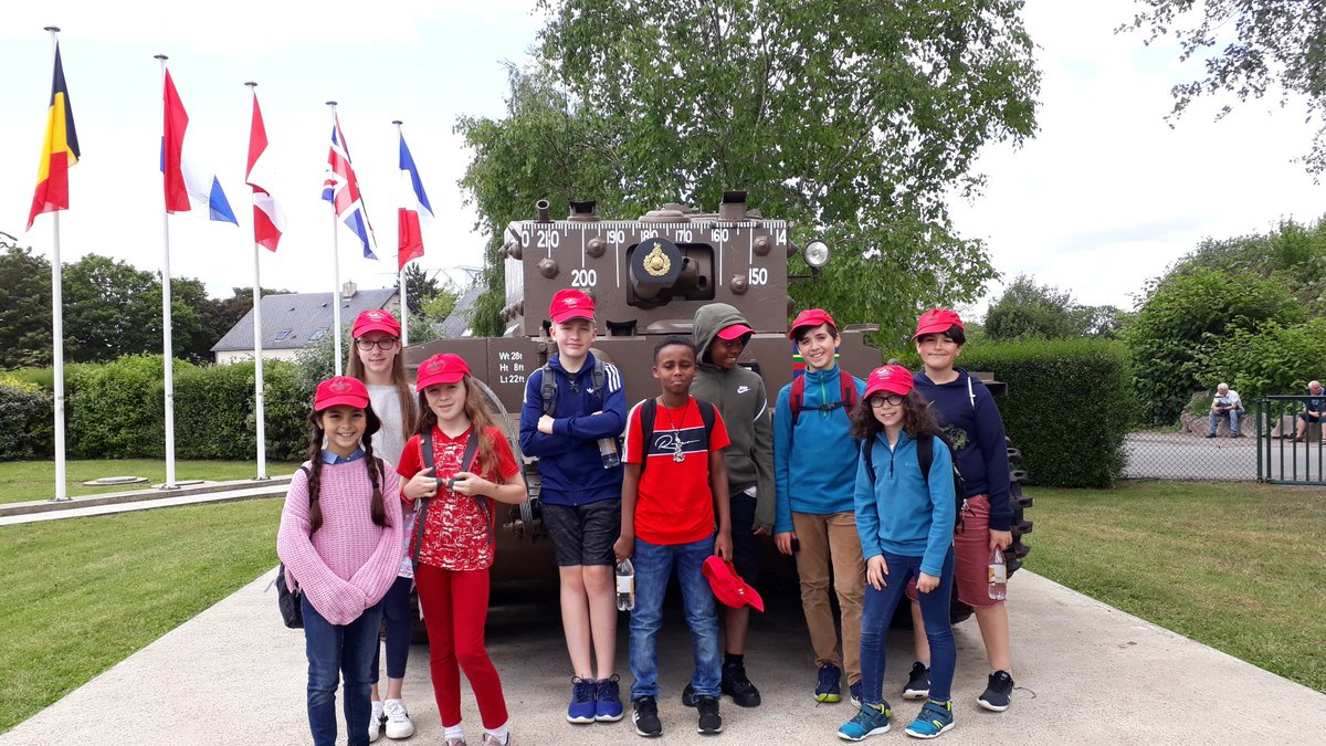 #Hothamprimaryschool #DDay75thAnniversary Normandy