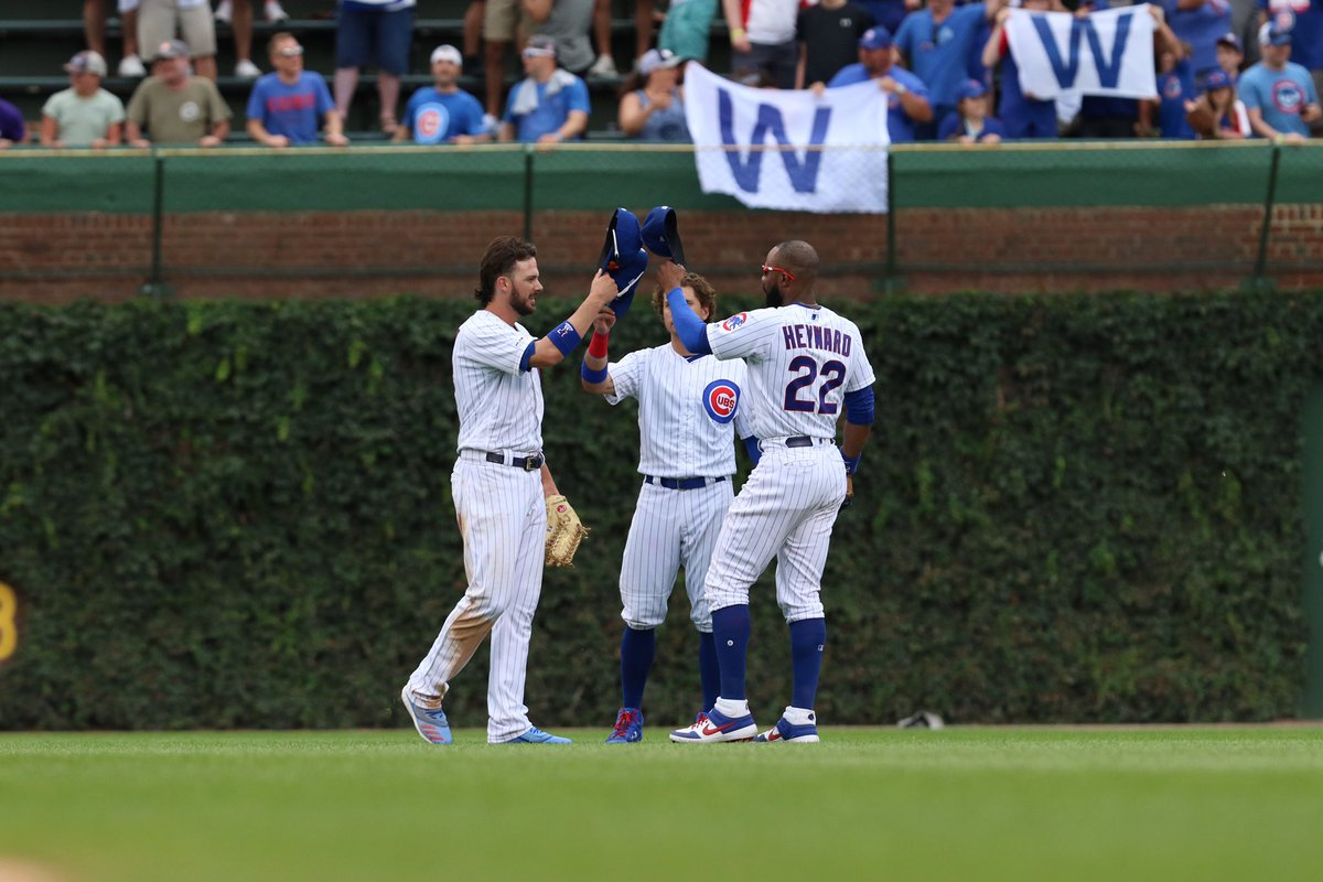 The Chicago Cubs are:  7-1 since All-Star break  9-2 in our last 11  36-17 at home   #EverybodyIn  <br>http://pic.twitter.com/6ggiC9RFiV