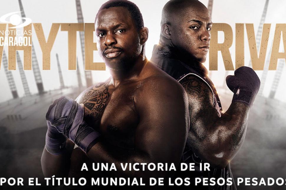 Vea la pelea entre Óscar Rivas y Dillian Whyte desde el O2 Arena de Londres, CONÉCTESE  >>> http://bit.ly/2N7YL02