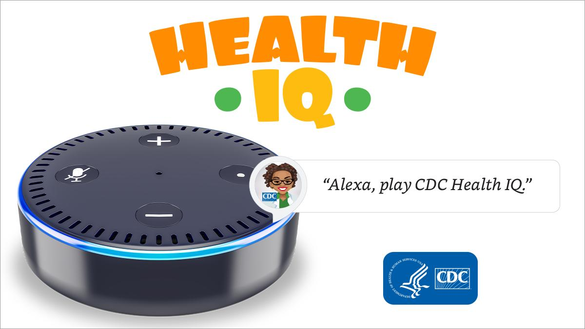 test Twitter Media - Students: Looking for a fun way to learn about health? Play #CDCHealthIQ skill on your Alexa enabled device. https://t.co/QCdwGiUfE8 #AskAlexa https://t.co/iiAjVrHtSZ