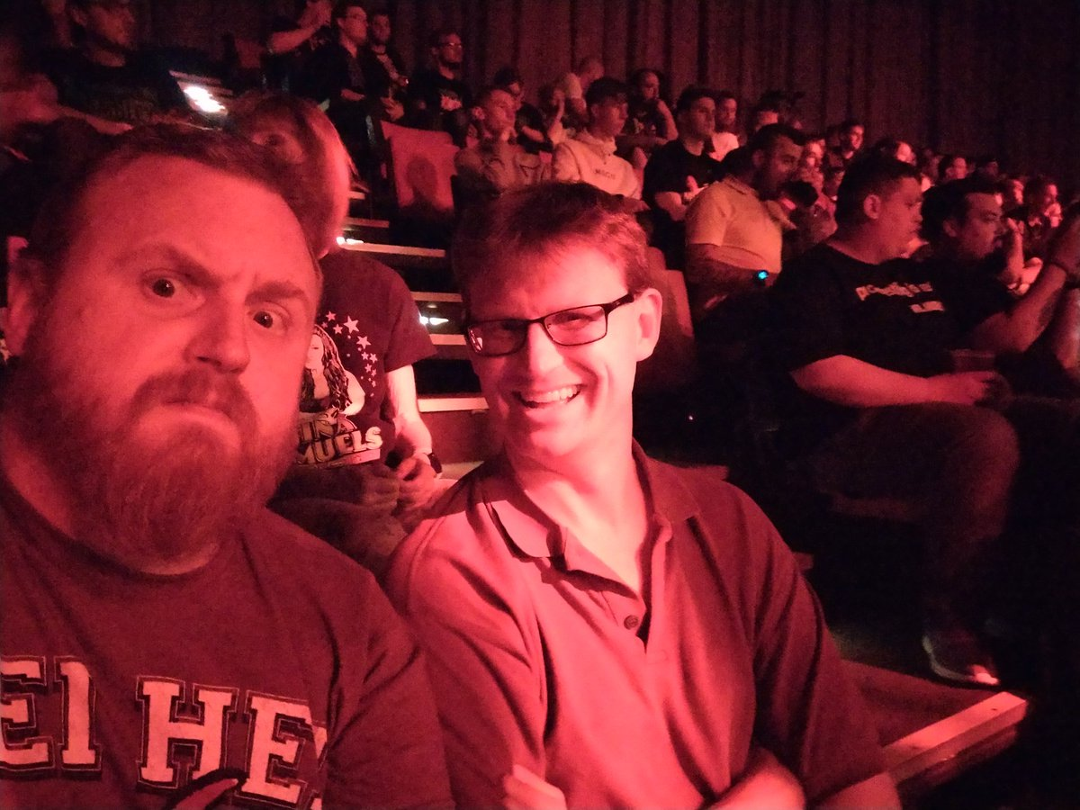 Brooker brothers in the house at #NXTUKPlymouth. Let us know if those tricky #Gallus lads need doing with.