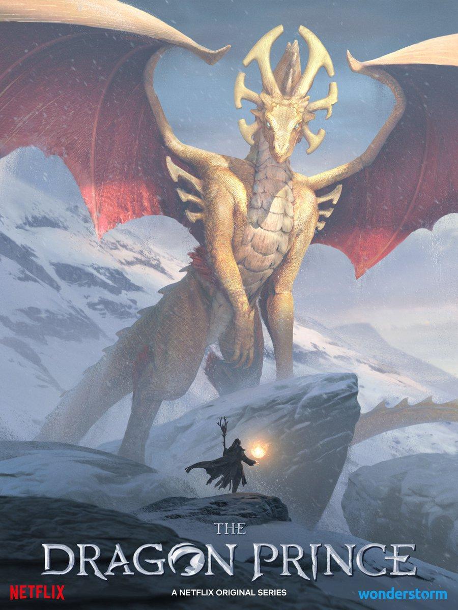 The Dragon Prince - #SDCC2019 Key Art!  #TheDragonPrince
