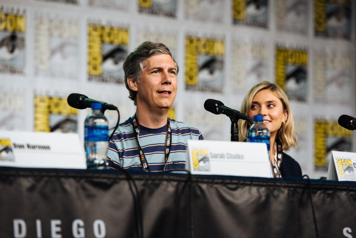 Questions were asked. Answers were given. #SDCC2019 #RickandMorty @JustinRoiland @sarahchalke @spencergrammer