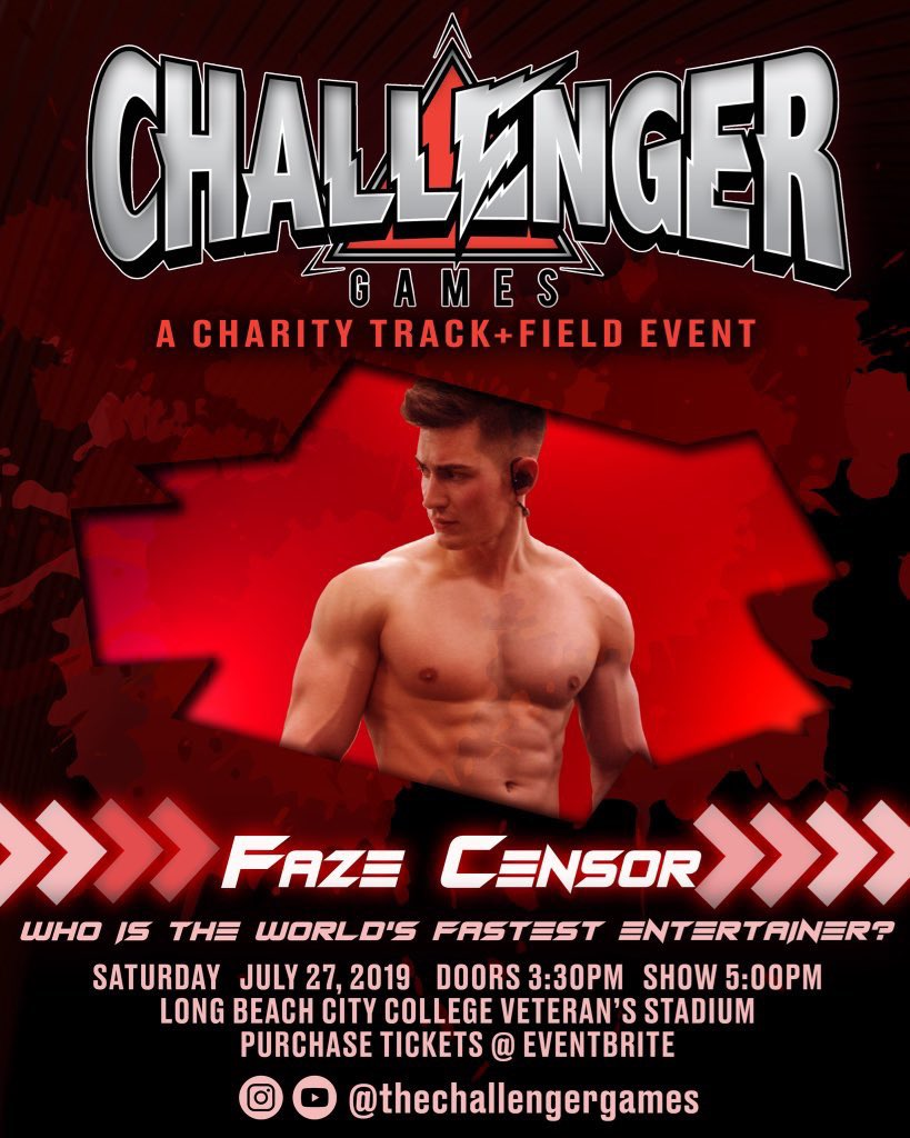 SO EXCITED FOR LOGAN PAUL'S CHALLENGER GAMES! Say hi if you see me there :)