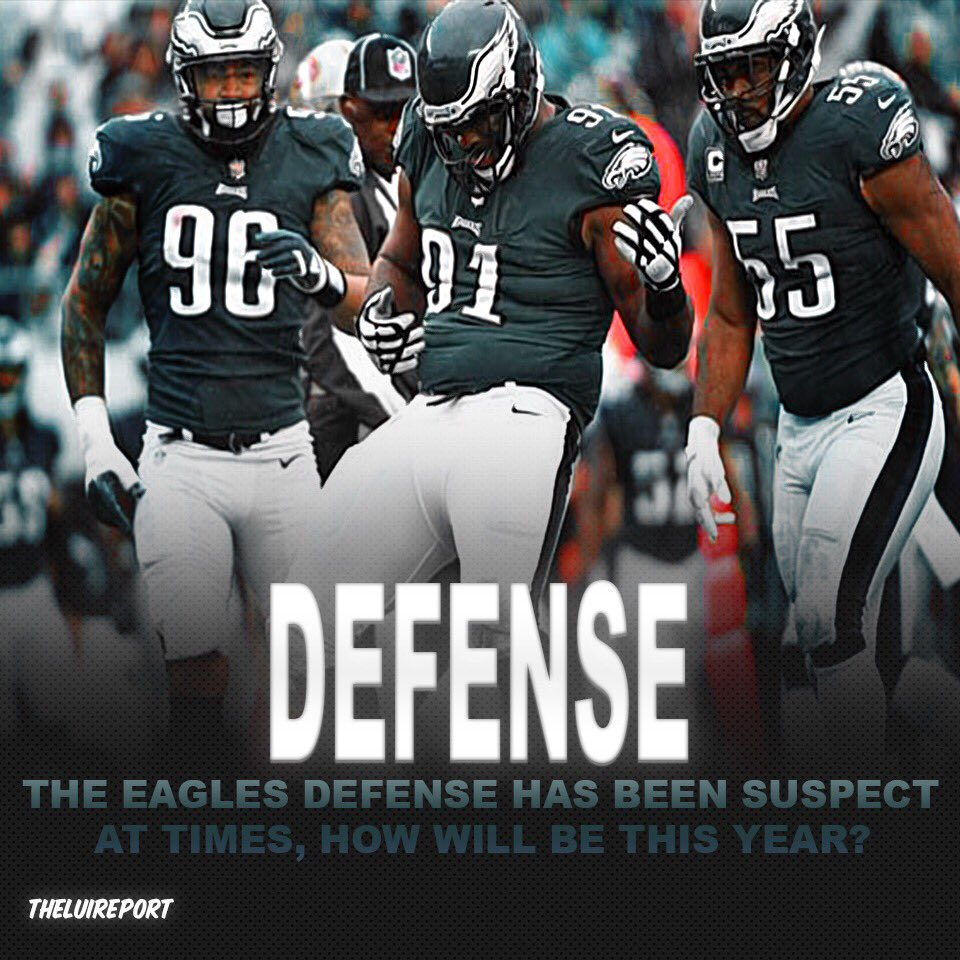 💭 Do the Philadelphia Eagles have the defense to make a deep run in the Playoffs? Will their defense be better or worse in your opinion?   #nfl #nfloffseason #nflpreseason #philadelphiaeagles #eagles #philadelphia #defense #football #sports #news #f4f
