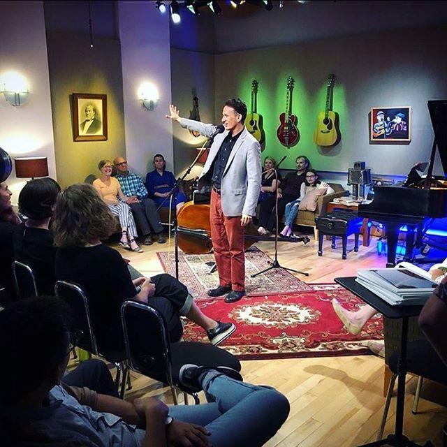 REPOST from @samuelpayne71 @antoniosacre killin' it in front of a terrific audience, live in @the_apple_seed_  studio at @byutv @byuradio #GratitudeAttitude  #LiveRecording #DoWhatYouLove #ComingSoon . . . . . . . . . #byuradio #byutv #radioshow #r…  https://www. instagram.com/p/B0JlmsOplpx/    <br>http://pic.twitter.com/hwar0XFzQS