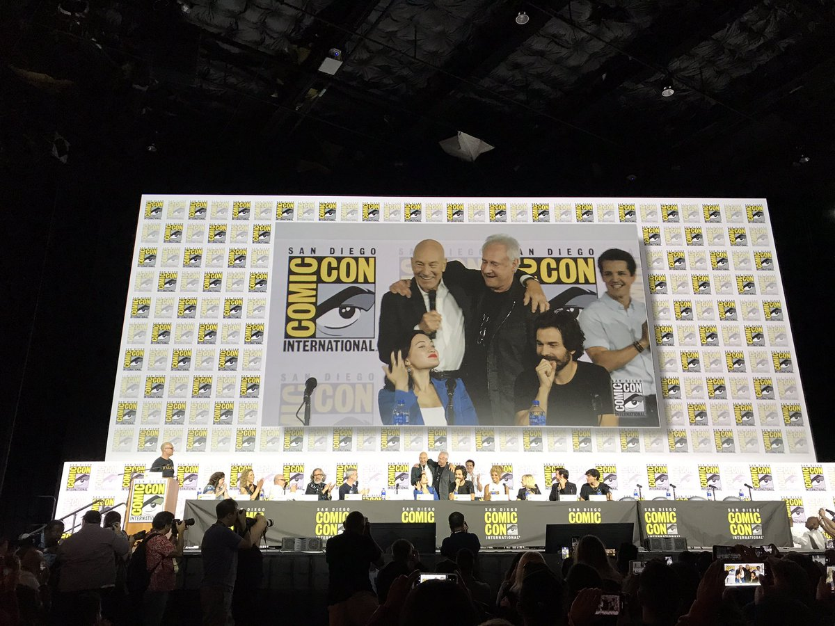 Data está no palco #startrek #sdcc