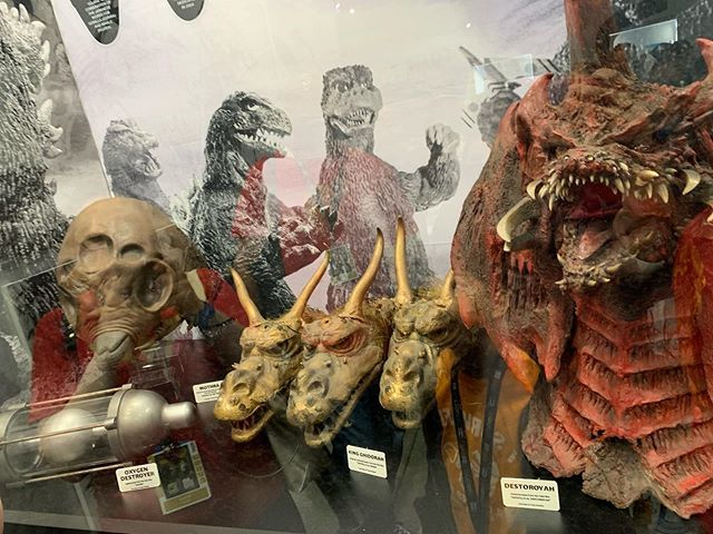 They have an amazing display of original #Godzilla #kaiju #costumes and #miniatures on display in #Toho a booth 3535 at @comic_con. https://ift.tt/2Oa4bvw