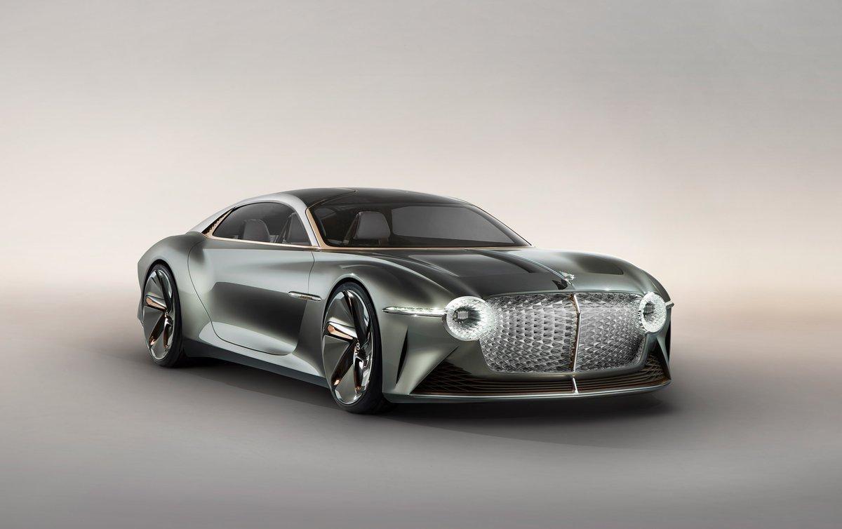 Bentleys EXP 100 GT concept reimagines grand touring for the year 2035: at.dezeen.com/2JSPzvd