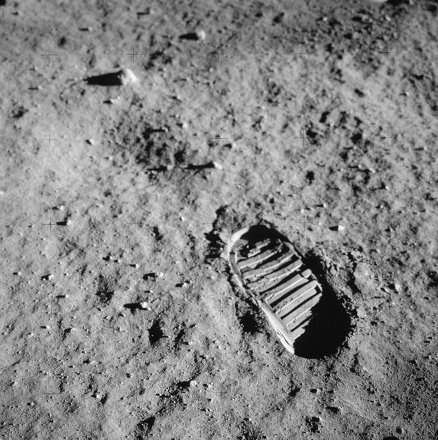 At this very moment, the world changed forever. At 9:56 pm CT in 1969, Neil Armstrong took one giant leap for ALL mankind -- all of us on Earth. #Apollo11s historic bootprints are still on the lunar surface today, leaving the Moon -- and Earth -- forever transformed. #Apollo50th