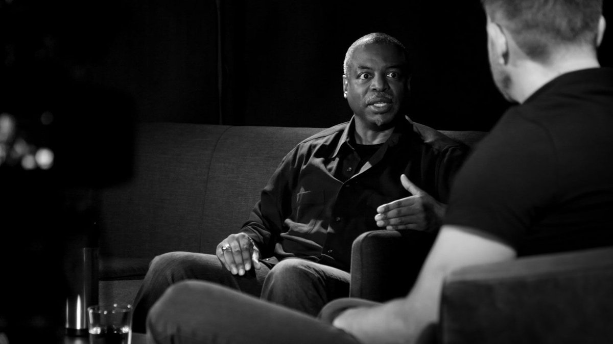 'Imagination is the superpower of the human being' Catch up /w @levarburton on the podcast. cr8.lv/2a7i2yc