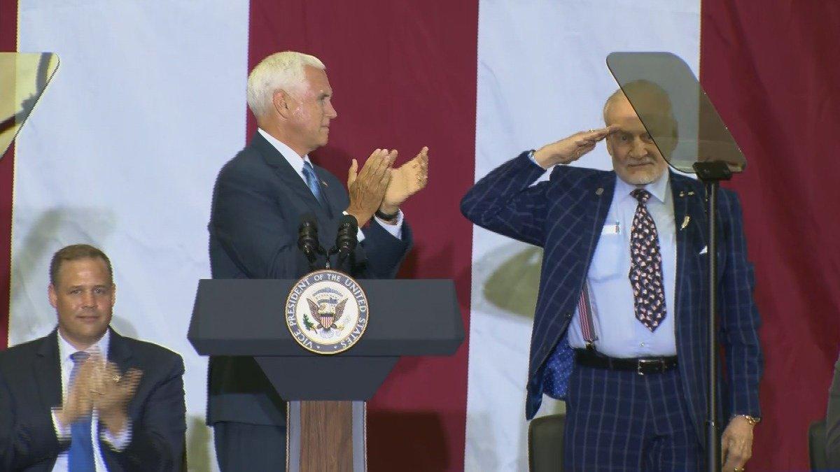 VERBATIM: Pence honors Apollo 11 heroes https://reut.rs/32FgjYz