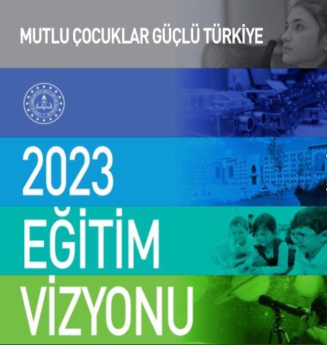 2023 Eğitim Vizyonu Erken Çocukluk Hedefi Erken Çocukluk Hedef 1.1 : Eği̇ti̇m Hizmeti Yaygınlaştırılacak 5 yaş, zorunlu eğitim kapsamına alınacaktır. Bu hedef eğitim vizyonu felsefesinin temelini oluşturuyor. #eğitim2023