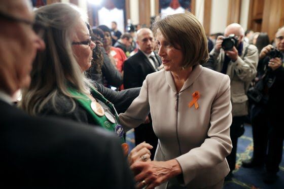 The pain felt by so many after that terrible night in Aurora seven years ago continues to spur us to action. The brave work of activists like Sandy & Lonnie Phillips, who lost their daughter, was crucial to bringing about passage of #HR8. Together, we will #EndGunViolence!<br>http://pic.twitter.com/VwXGvQvAvo