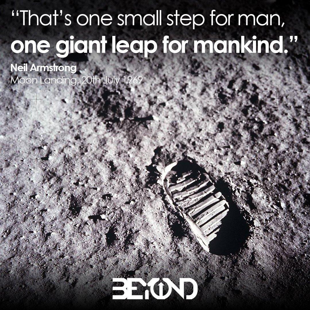 Live a life Beyond limits #TeachSomethingIn5Words #MoonLanding50