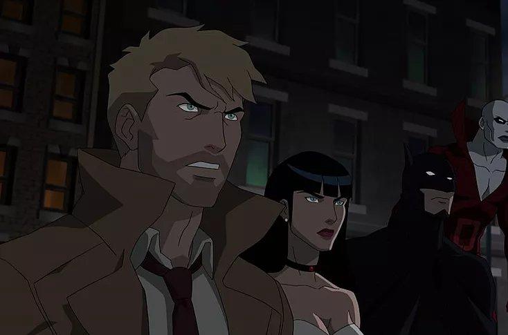 у Dc также выйдут анимационные фильмы Justice League Dark
