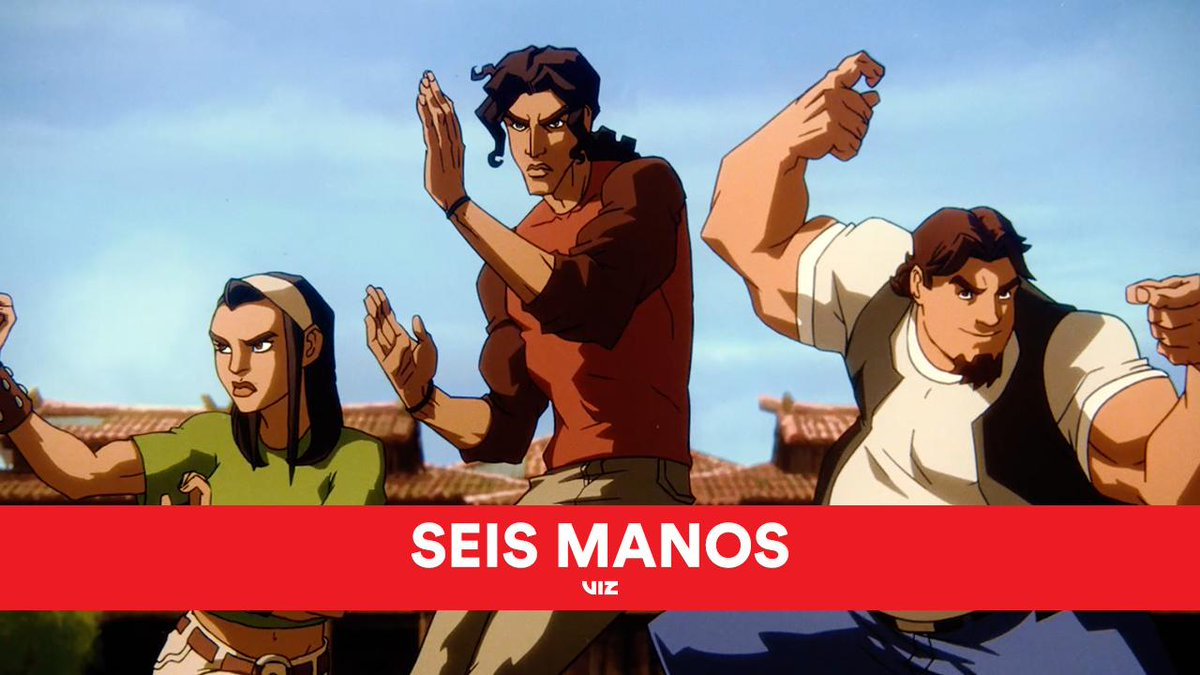 Debut of the increíble opening sequence to the new animated series from the creators of Castlevania.  Seis Manos coming to Netflix this Fall.