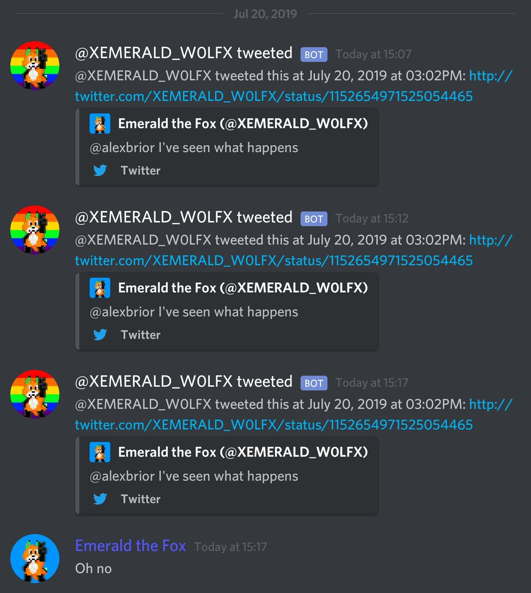 Emerald the Fox (@XEMERALD_W0LFX) | Twitter