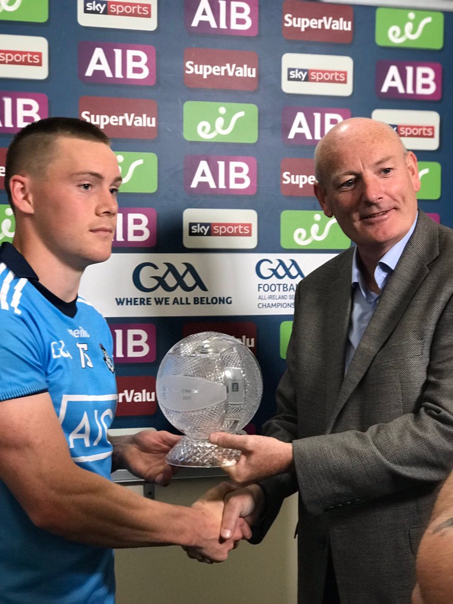 Con O'Callaghan is Man of the Match.. What a season he's having! #DUBvROS