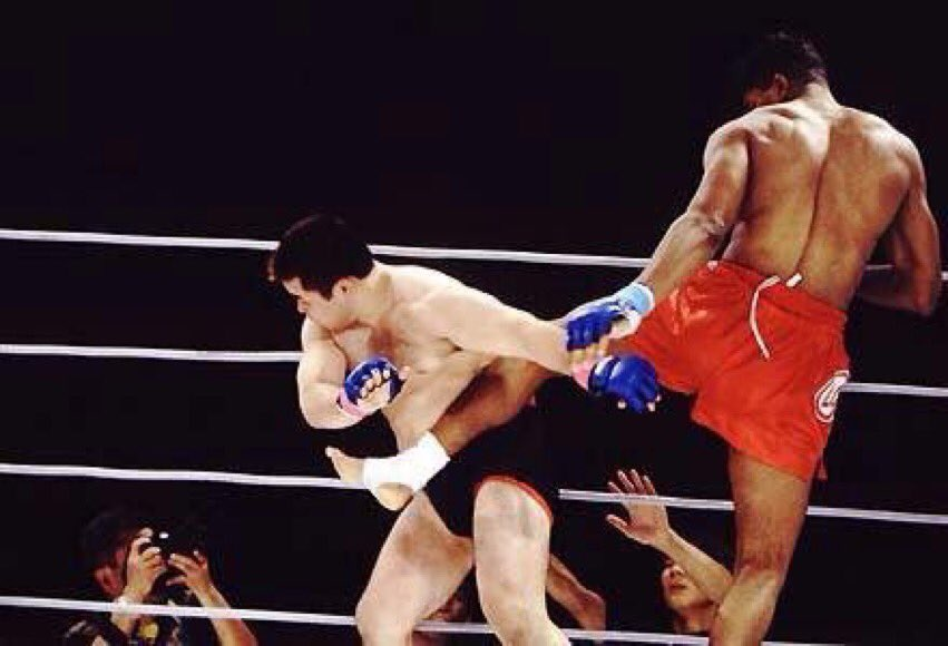 Jul20.2002  Alistair Overeem makes his PRIDE FC debut,  & finishes Yusuke Imamura with a combination of strikes