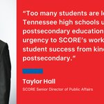 Image for the Tweet beginning: To prepare Tennessee students for