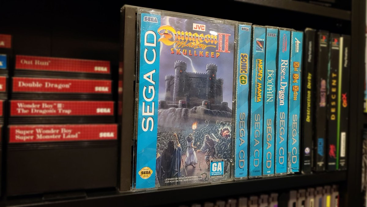 Dungeon Master II didn't translate well to a console controller - I need to find myself a SEGA Mouse before playing too far into this traditional first person dungeon crawler.  #RetroGaming #ShareYourGames #SegaSaturday