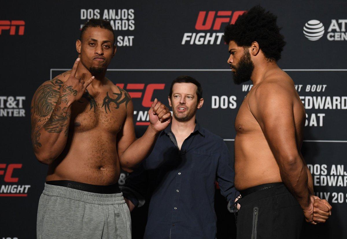 #UFCSanAntonio Official Result: @GregHardyJr def Juan Adams by TKO, Round 1, 0:45.  Live Results: https://www.ufc.com/news/ufc-san-antonio-results-rafael-dos-anjos-leon-edwards…
