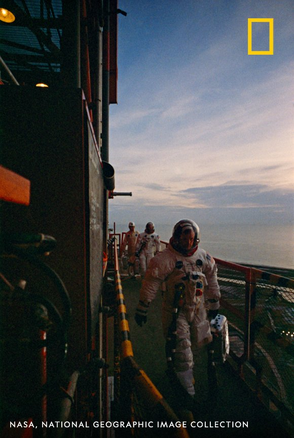 SPECIAL THANKS to @NASA, @USNatArchives, National Geographic Image Collection, and @BenFeist for the footage, images, and resources that made this thread possible! Check out the amazing work Ben Feist has done at http://www.apolloinrealtime.org. #Apollo50th