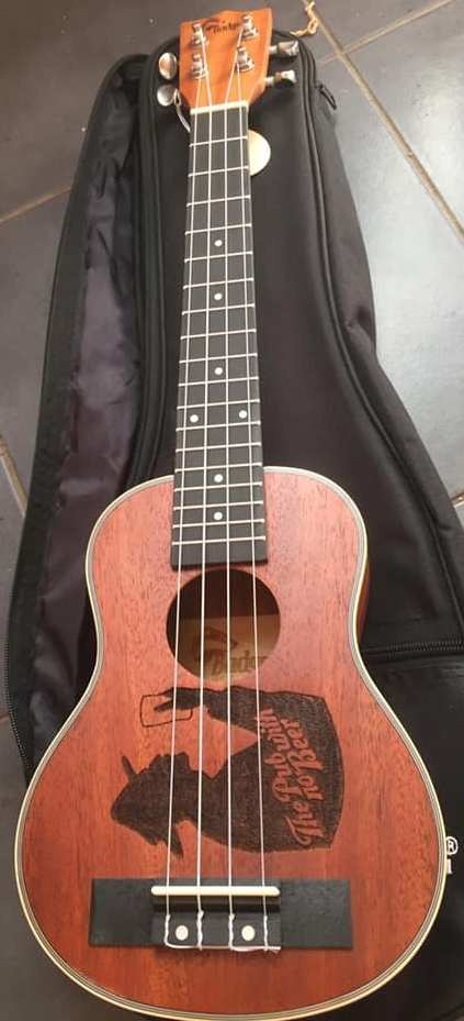 Badger guitars Ukulele pub with no beer limited edition