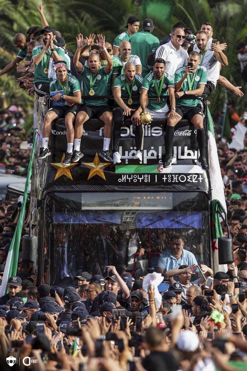 Le retour des champions. 🇩🇿🏆