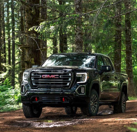 If it's on planet Earth, it's a driving path. #GMC