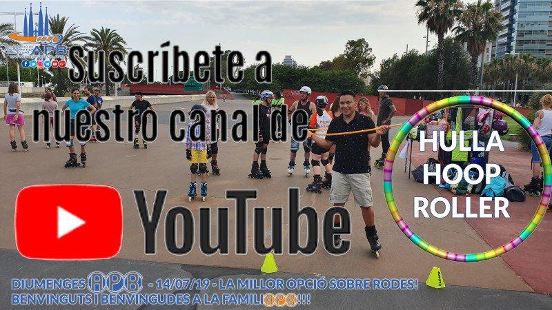 19/07/14 Diumenges APB: Hulla Hooping Roller https://www.youtube.com/watch?v=GZNYaY5eWdM&feature=youtu.be… Diumenges a classes, pots guanyar una samarreta  A veure qui s'anima? APB, més que patinatge! #apb #patinarbcn #voluntariat #diumenges #Domingos #Sundays #Dimanches #Esports #Barcelona #ReptesAPB #RetosEnPatines