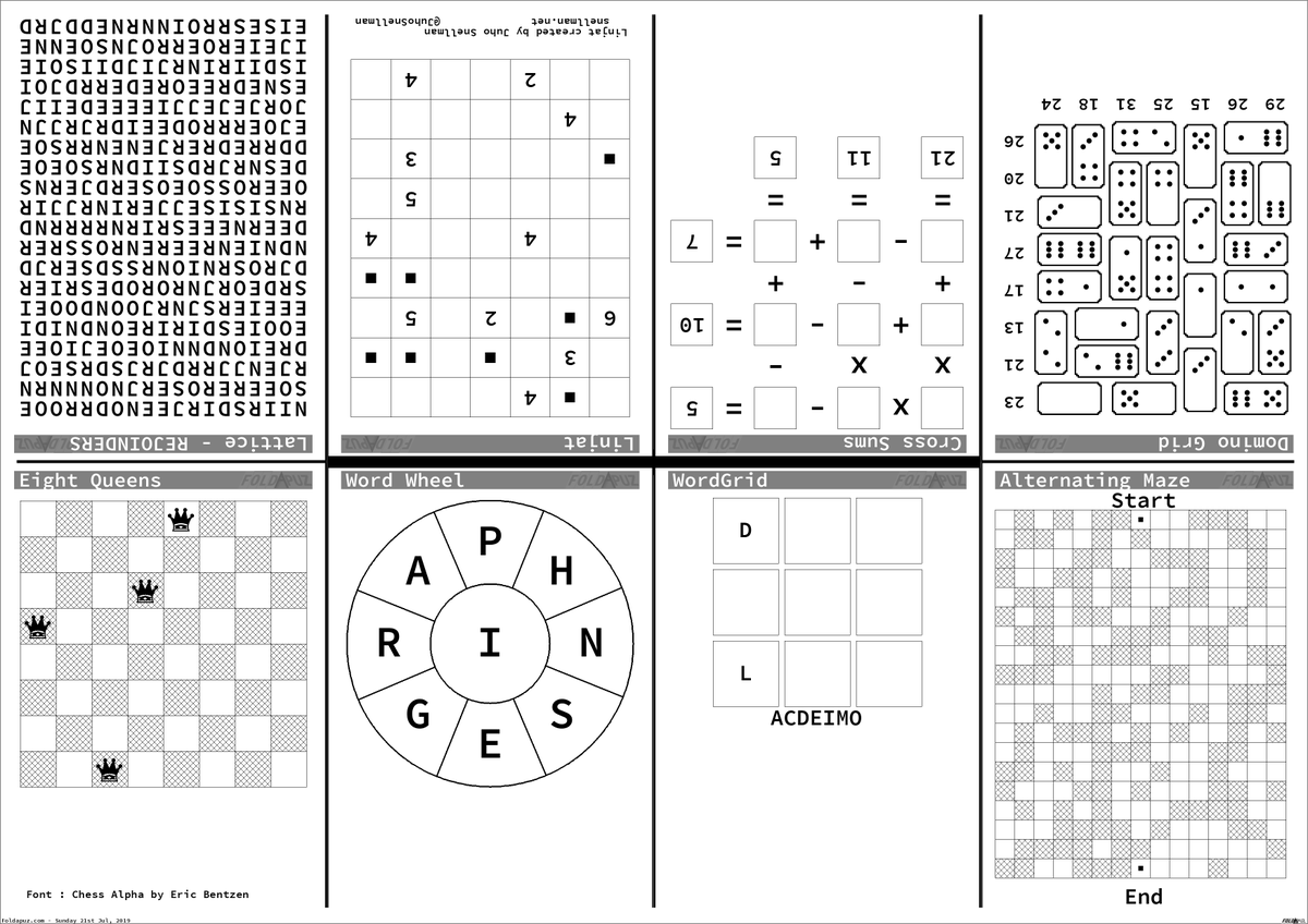image about Cross Sums Printable identified as foldapuz traola Twitterren