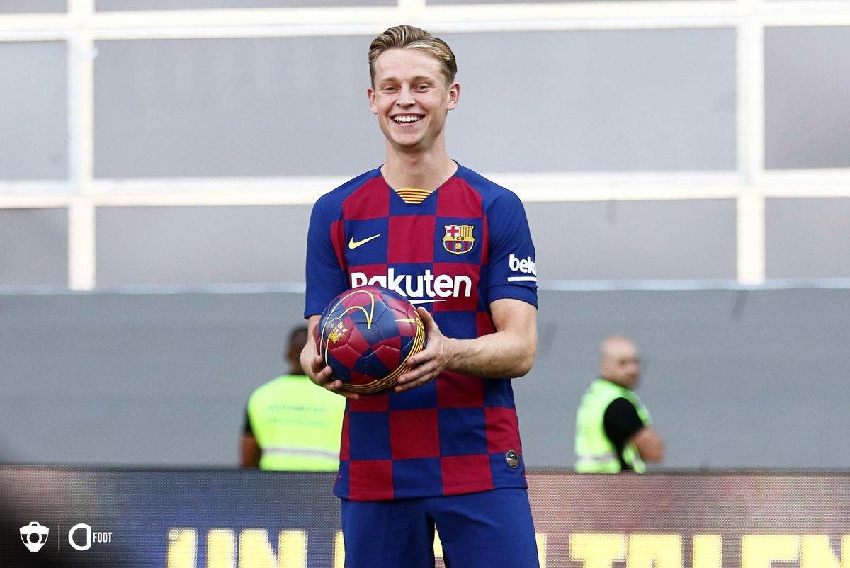 De Jong : « Bien sûr, j'aimerais jouer avec Neymar. C'est un très bon joueur, mais ce n'est pas à moi de décider s'il doit retourner au Barça. » (@sport)