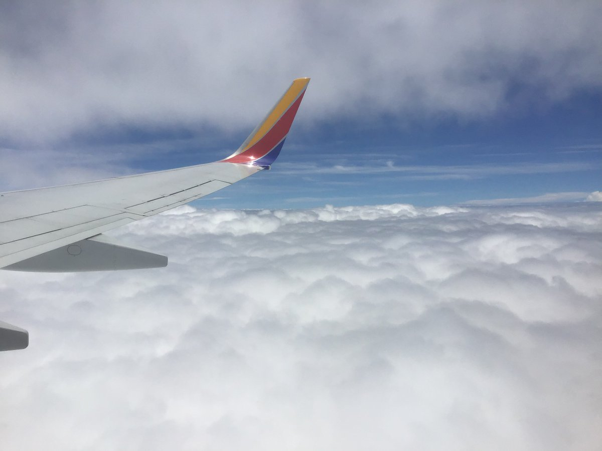 #AboveTheClouds #WindowSeat