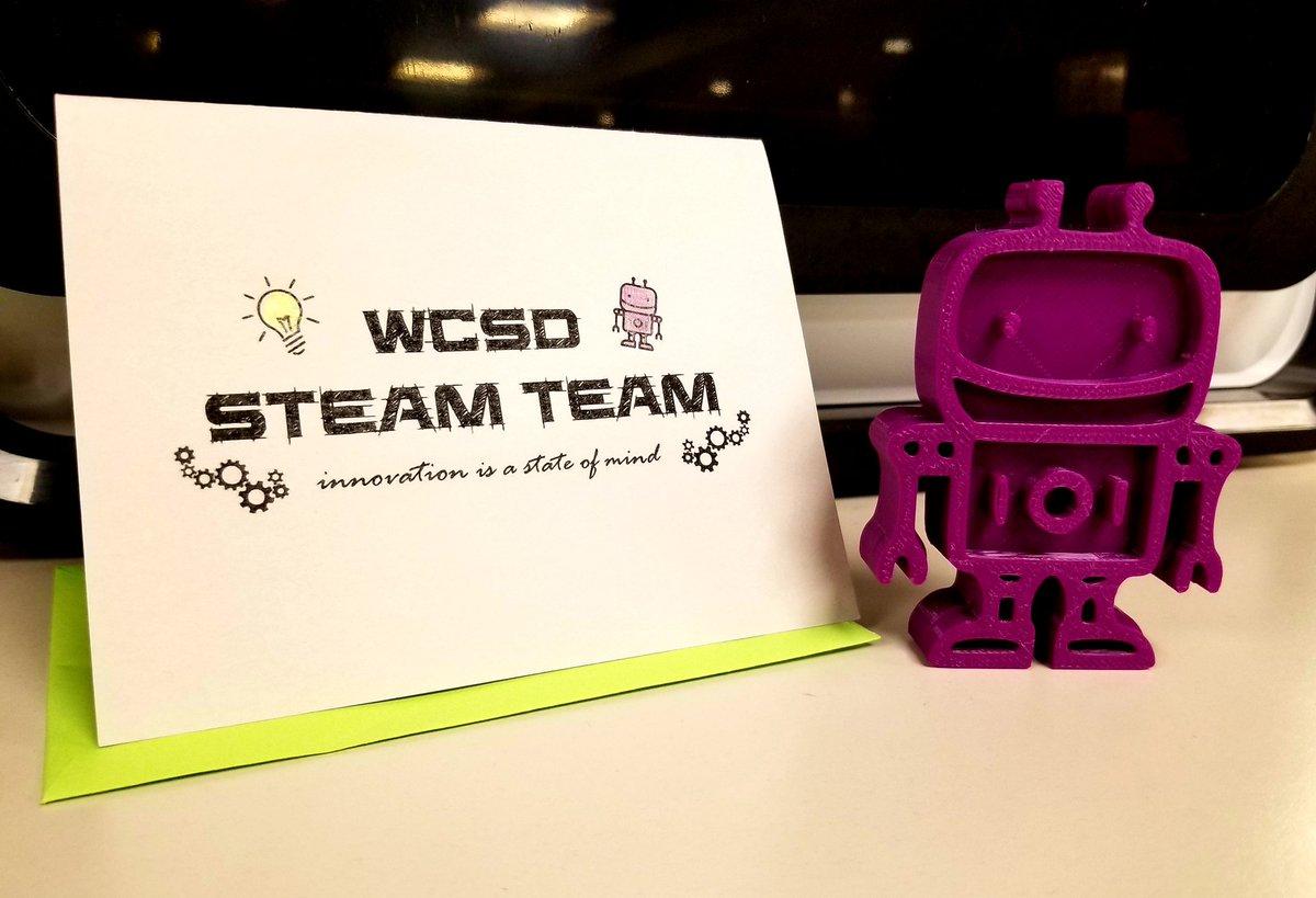 Twitter photo by STEM @ Watertown CSD