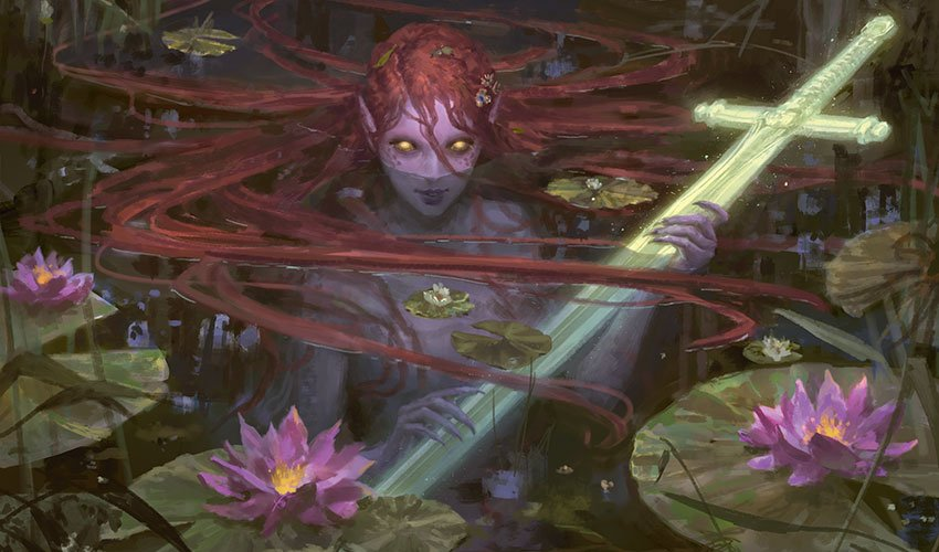 """Strange women lying in ponds distributing swords is no basis for a system of government."" #MTGEldraine #MTG <br>http://pic.twitter.com/VJ5u24ThKi"