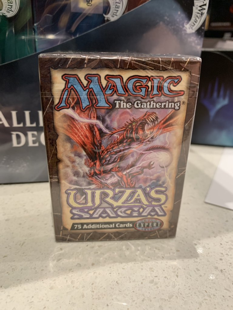 The ultimate throwback is waiting for you at #SDCC2019   Come quick! The best throwback of the weekend starts at 6pm!  #mtg @wizards_magic<br>http://pic.twitter.com/fUJfyKC6z3