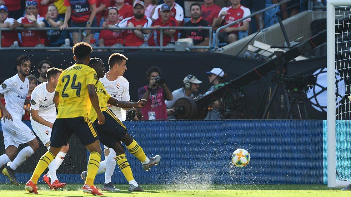 Video: Arsenal vs Fiorentina