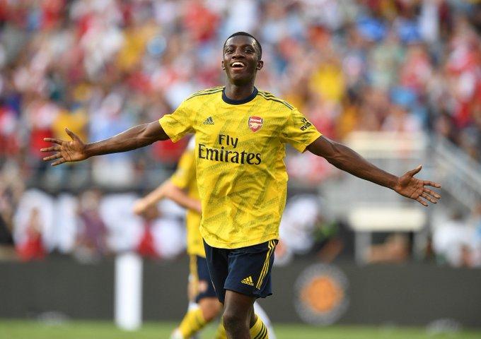 📝 Eddie Nketiah hits brace as Arsenal breeze past Fiorentina
