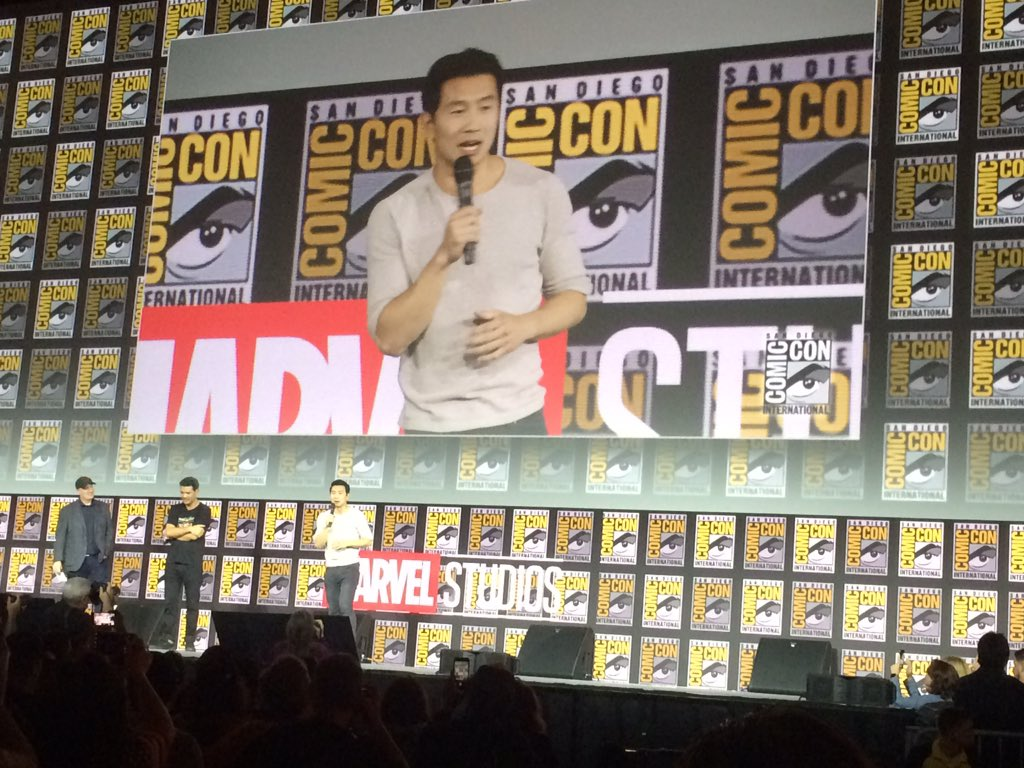 #Marvel #SDCC Shang-Chi is Simu Liu. He was cast on Tuesday, after screen testing on Sunday in New York <br>http://pic.twitter.com/s2vXFjRWRg