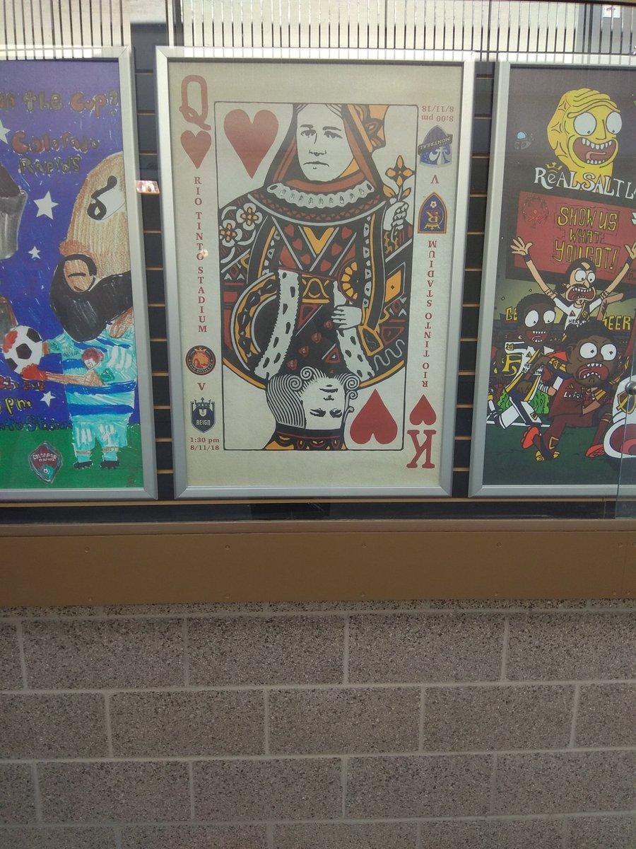 Poker & Pop Culture at MLS game @hardboiledpoker